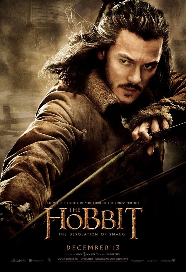 Hobbit Desolation of Smaug New Poster 7 Seven New Posters from The Hobbit: The Desolation of Smaug Feature Elves, Hobbits, Dwarves and Bard the Bowman