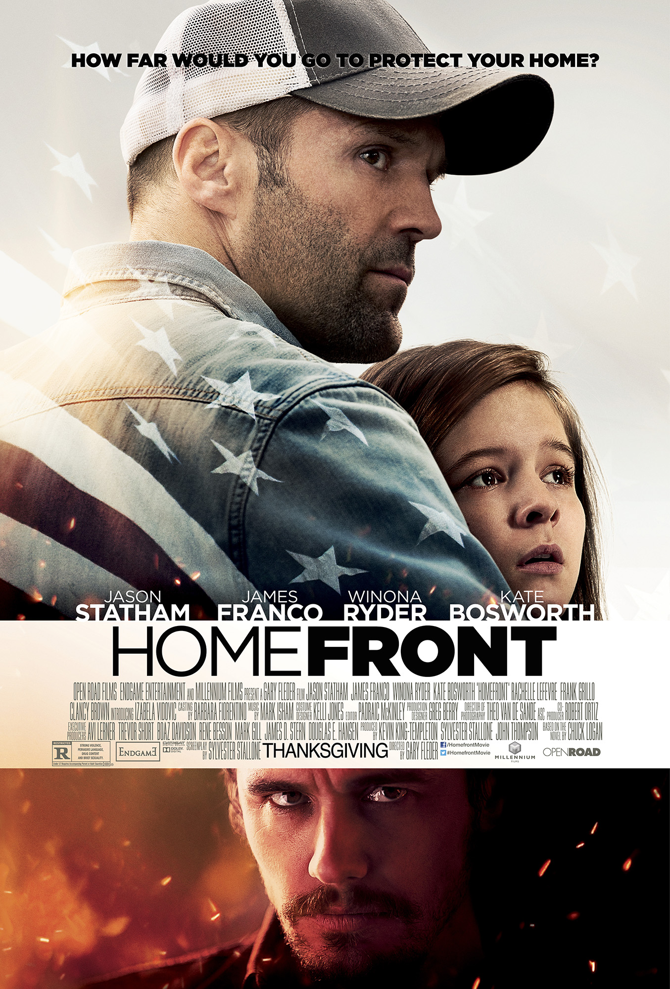 Homefront Poster New Trailer for Homefront, Starring James Franco and Jason Statham, Released