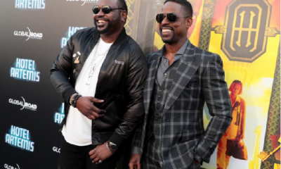Hotel Artemis Brian Tyree Henry and Sterling K. Brown