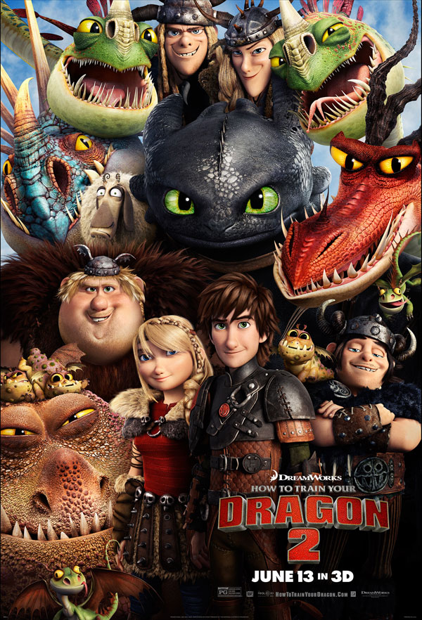 How to Train Your Dragon 2 Poster How to Train Your Dragon 2 Movie Review