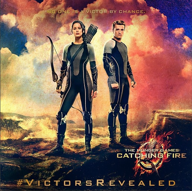 Hunger Games Victors New Victors Banner Featuring Katniss and Peeta Revealed on Hunger Games Explorer