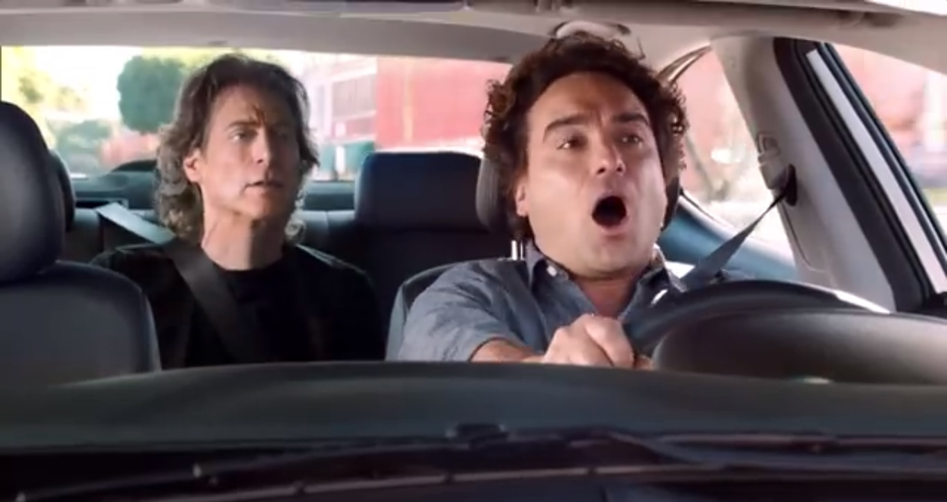 Hyundai Elantra Big Game Commercial Nice Watch Johnny Galecki and Richard Lewis in Hyundai Elantra Super Bowl Commercial