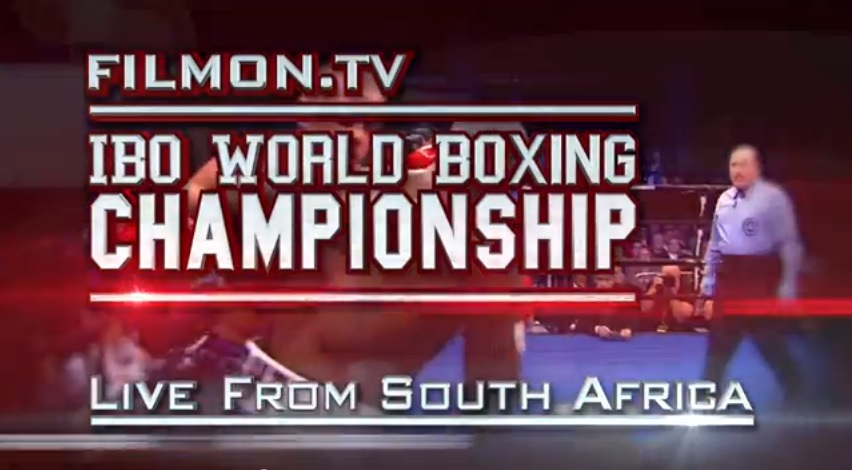 IBO Fights FilmOn IBO World Championship Fight Between Gideon Buthelezi and Edrin Dapudong Held Tonight Exclusively on FilmOn.com