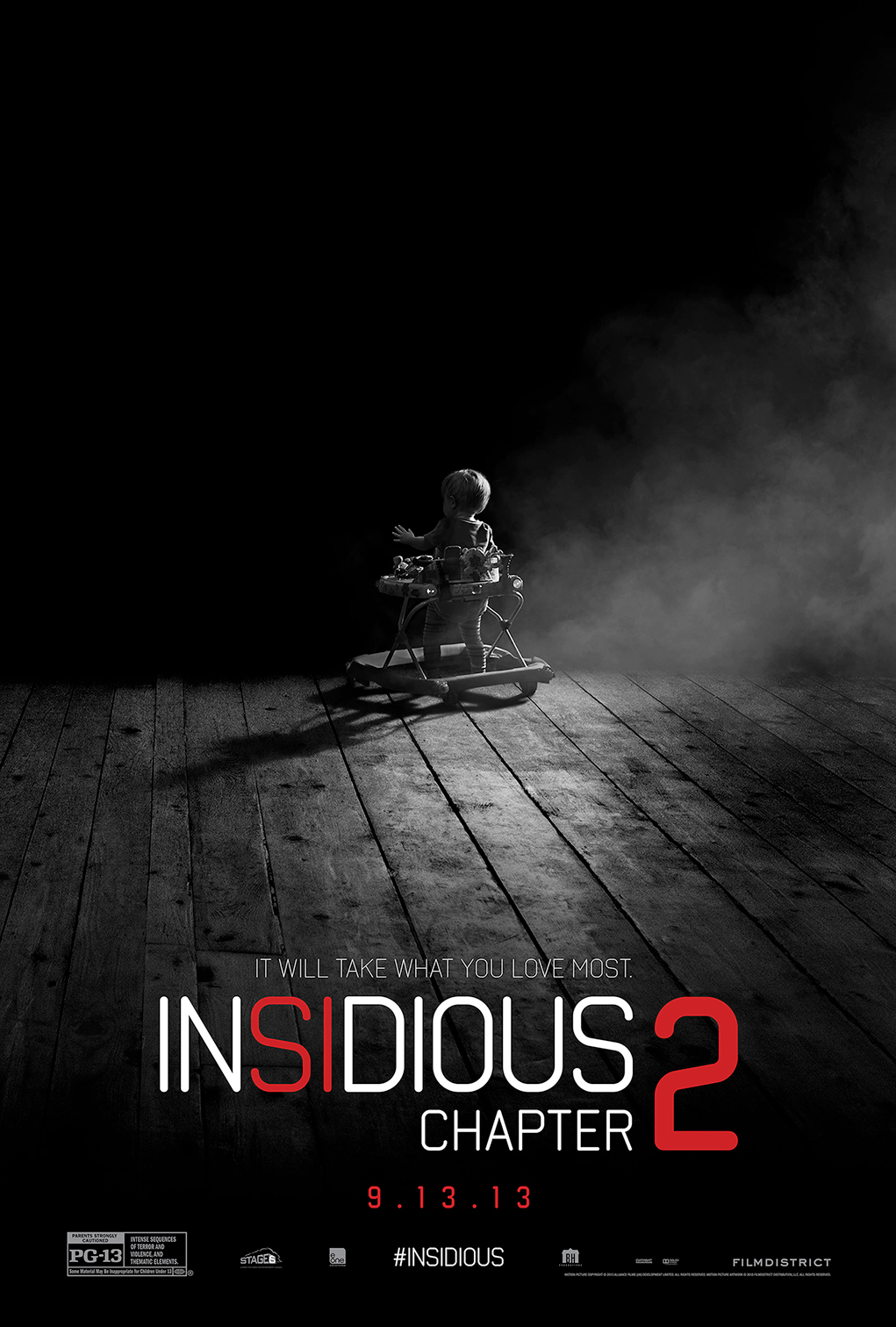 Present Dad with Creedpy Insidious Chapter 2 Teaser Poster