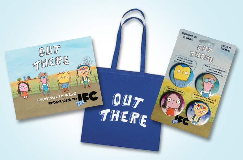 IFC OutThere GiftBag Win An Out There Tote Bag From ShockYa!