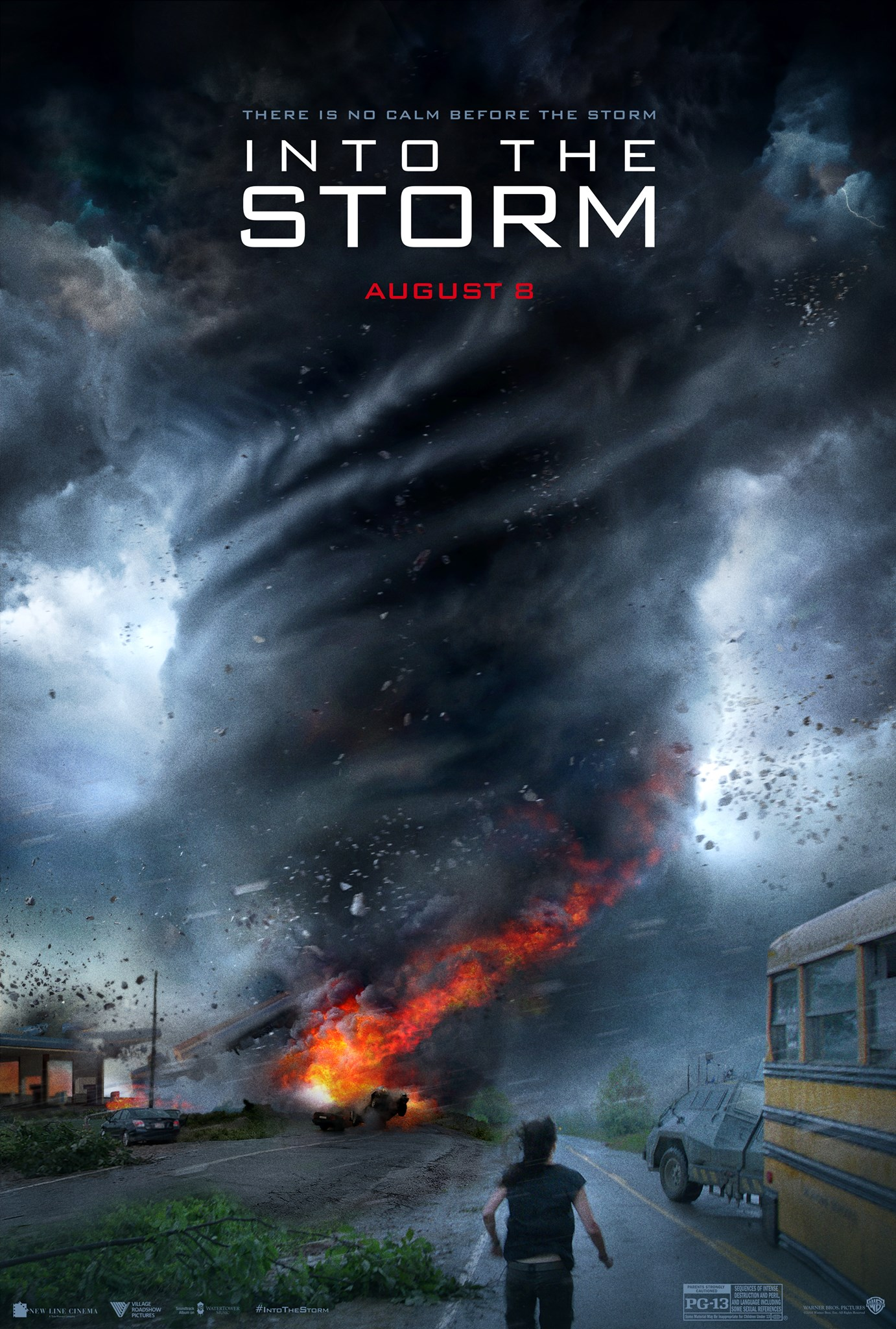 INTOTHESTORM Poster Tornadoes Terrorize in Into the Storm Trailer