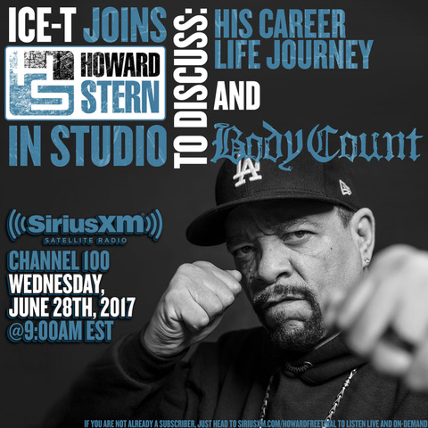 Ice-T Howard Stern Show
