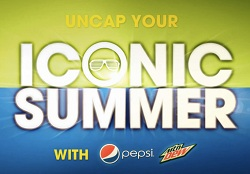 Iconic Summer Enter and Win in Pepsi and Mountain Dews Iconic Summer Program!