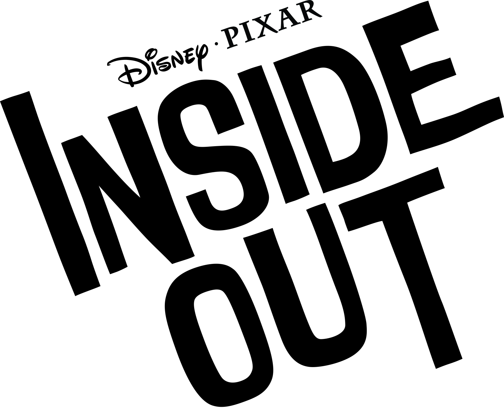 Inside Out Logo Go Inside Out with Title Treatment and Synopsis for Disney/Pixar Film