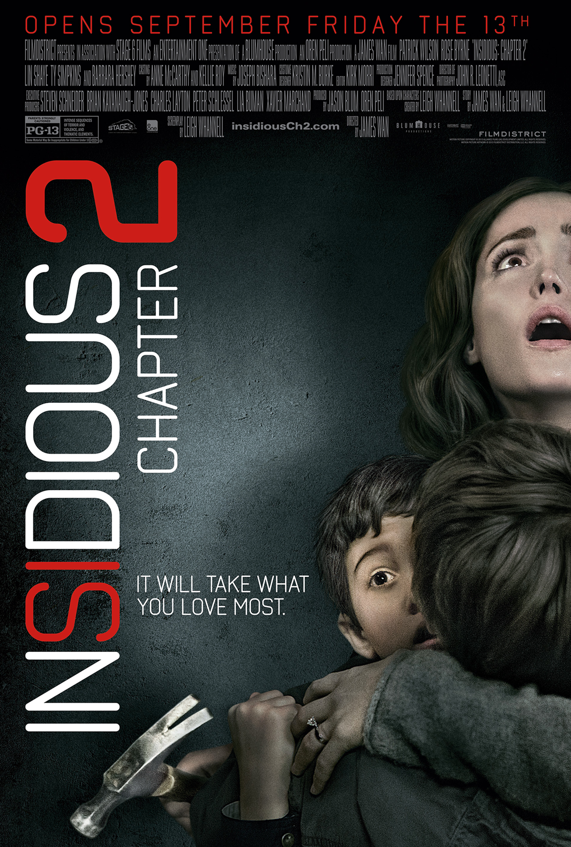 Insidious Chapter 2 Payoff One Sheet Poster