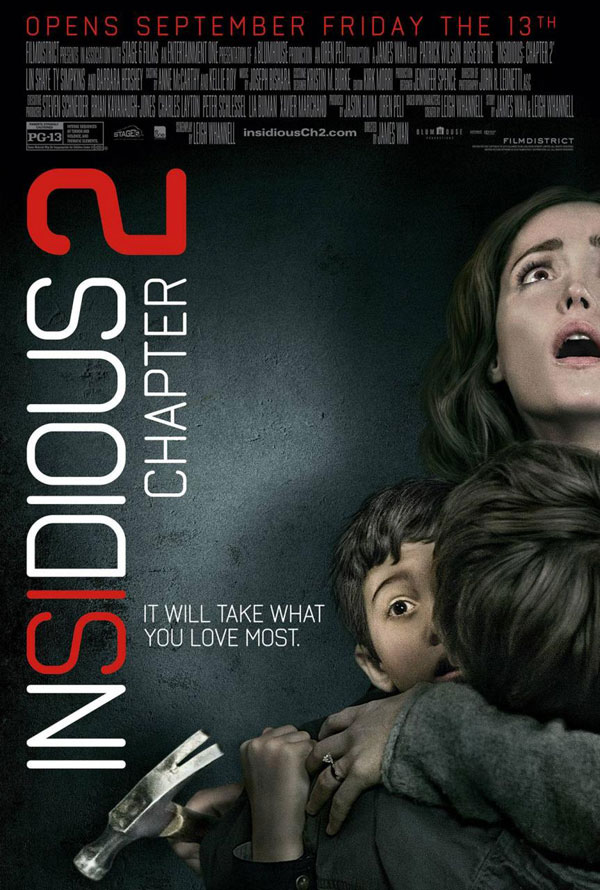 Insidious Chapter 2 Poster Insidious Chapter 2 Movie Review