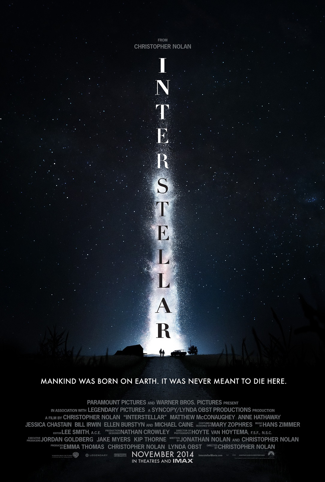 Interstellar Teaser 1 Sht New Trailer for Interstellar Is Amazing