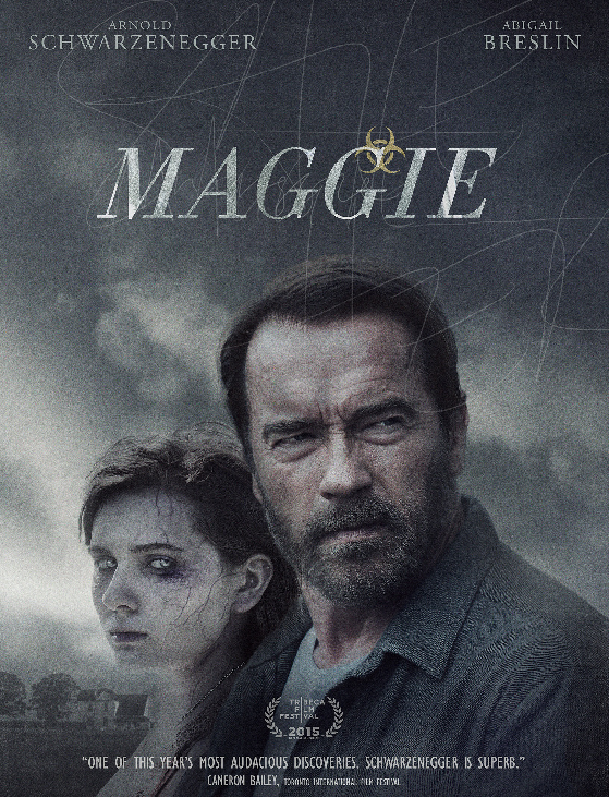Exclusive Behind the Scenes Maggie Clip Chronicles Arnold Schwarzenegger and Abigail Breslin's Father-Daughter Relationship