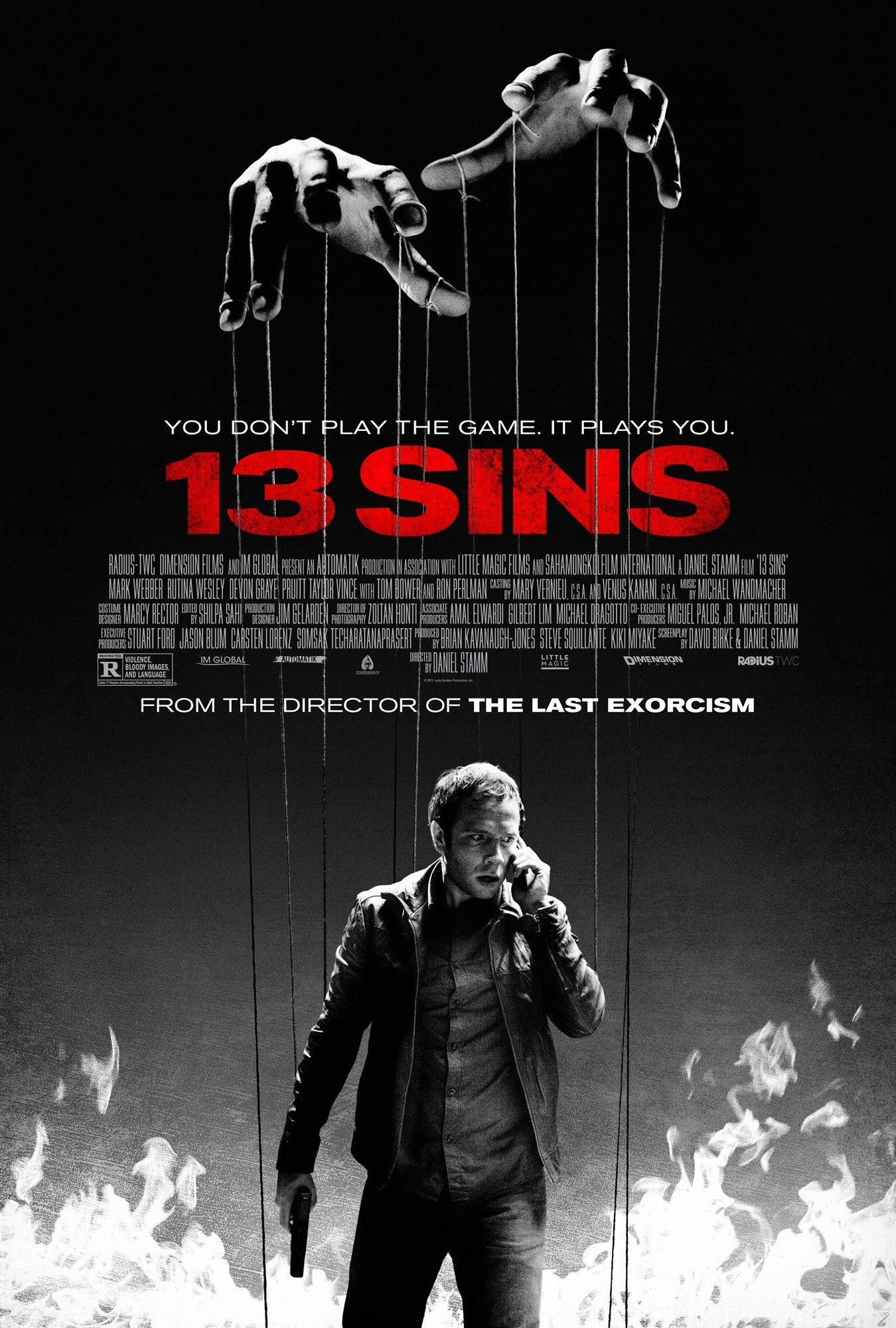 Interview: Daniel Stamm Talks 13 Sins