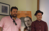 Interview Elijah Wood and Celyn Jones Talk Set Fire to the Stars