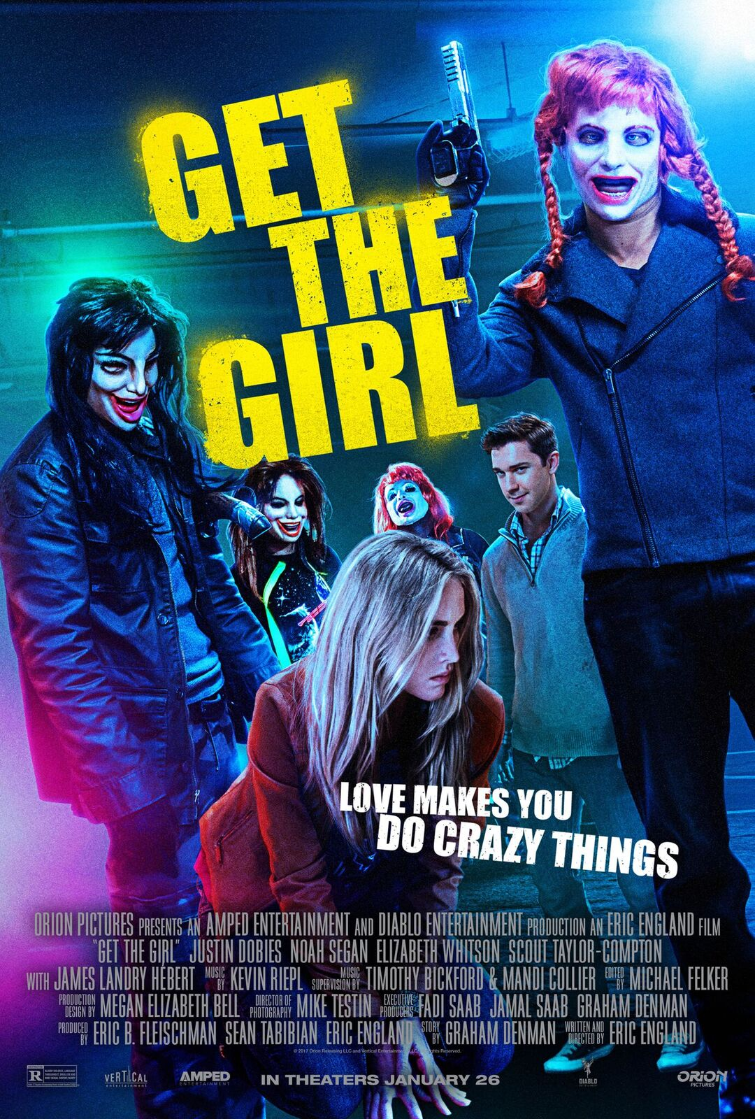 Interview: Eric England Talks Get The Girl (Exclusive)