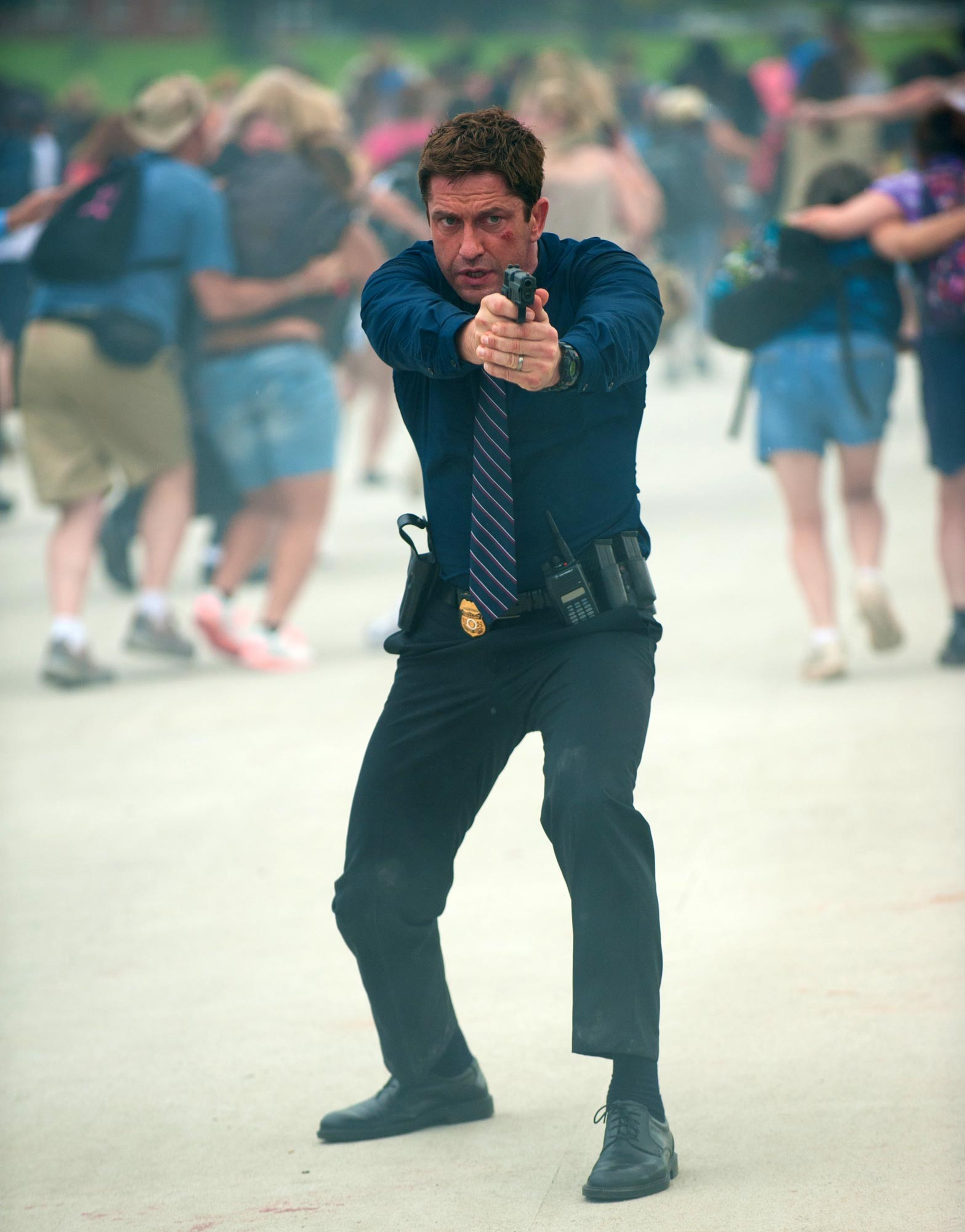 Interview Gerard Butler Talks About His Role In Olympus Has Fallen New Red Band Clip From Olympus Has Fallen Features Gerard Butler