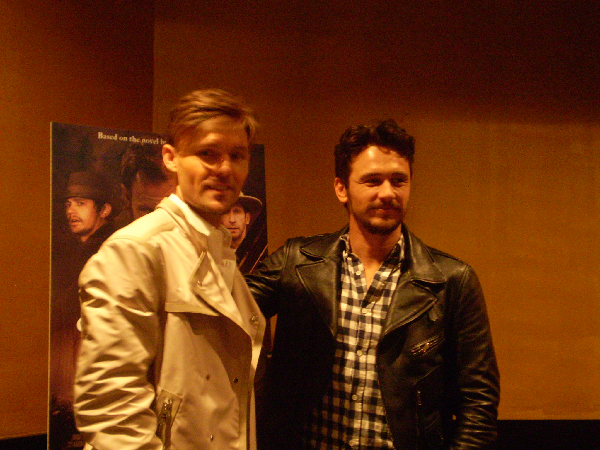 Interview James Franco and Scott Haze Talk Child of God Interview: James Franco and Scott Haze Talk Child of God