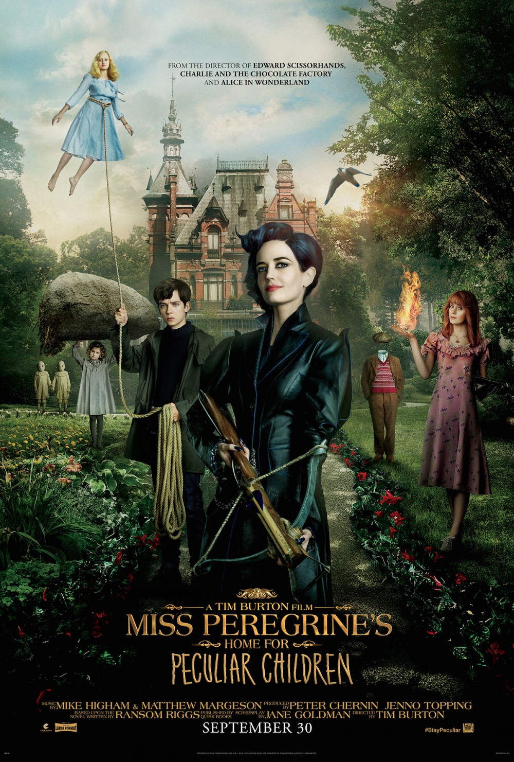 Interview: Ransom Riggs Miss Peregrine's Home For Peculiar Children (Exclusive)