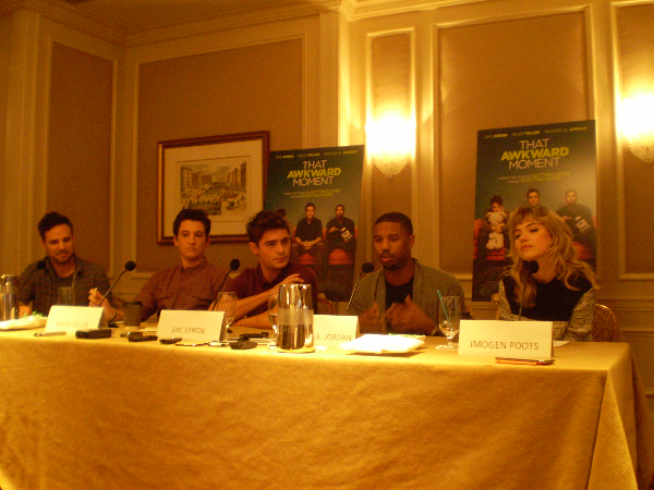 Interview The Cast and Crew Talk That Awkward Moment Interview: The Cast and Crew Talk That Awkward Moment