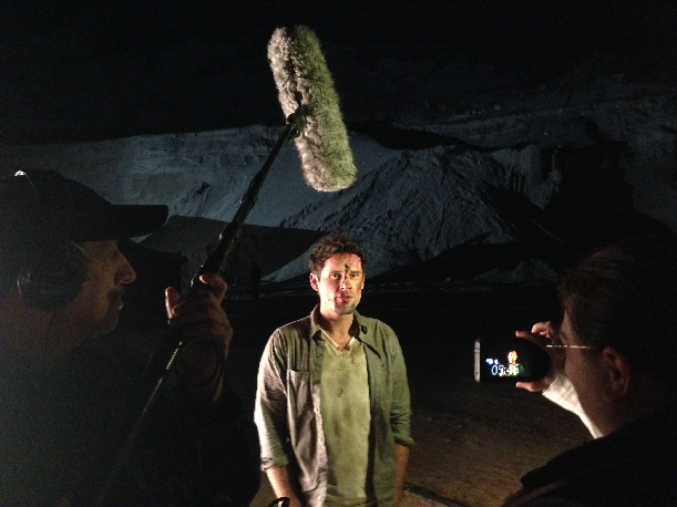 Interviewing  Ben Hollingsworth on Joy Ride 3 Road Kill Set