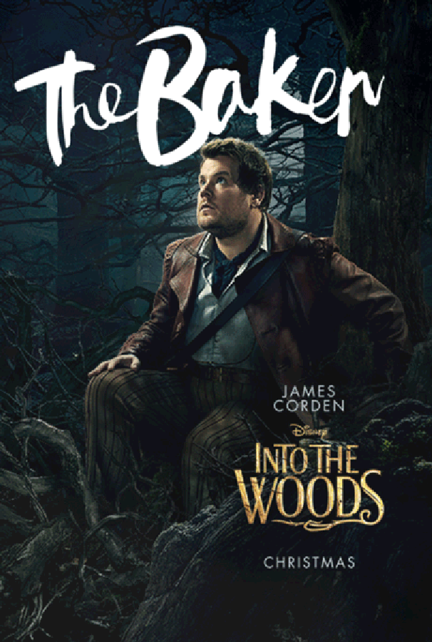 Into the Woods The Baker Poster