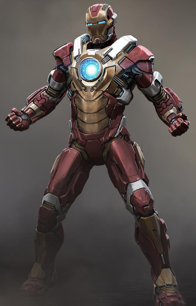 Iron Man 3 Heartbreaker Armor Concept Art First Look at the Iron Man 3 Heartbreaker Armor
