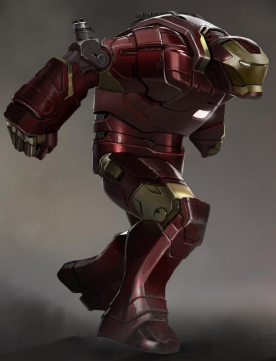 Iron Man 3 Hulkbuster Concept Art Iron Man 3 Hulkbuster and Space Armor Concept Art Leaks