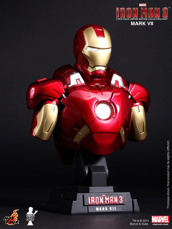 Iron Man 3 Mark VII Armor Hot Toys First Look at Iron Man 3 Action Figures from Hot Toys