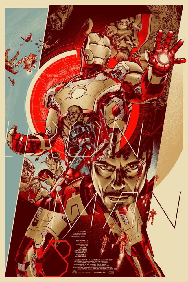 Metropolis – Final Iron Man Mondo Martin Ansin