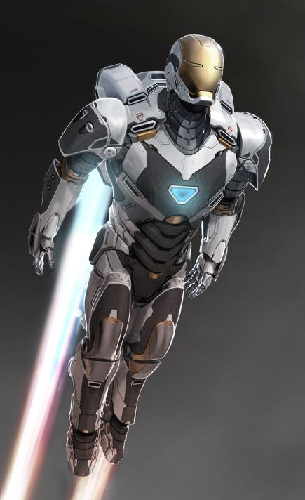 Iron Man 3 Space Armor Iron Man 3 Hulkbuster and Space Armor Concept Art Leaks