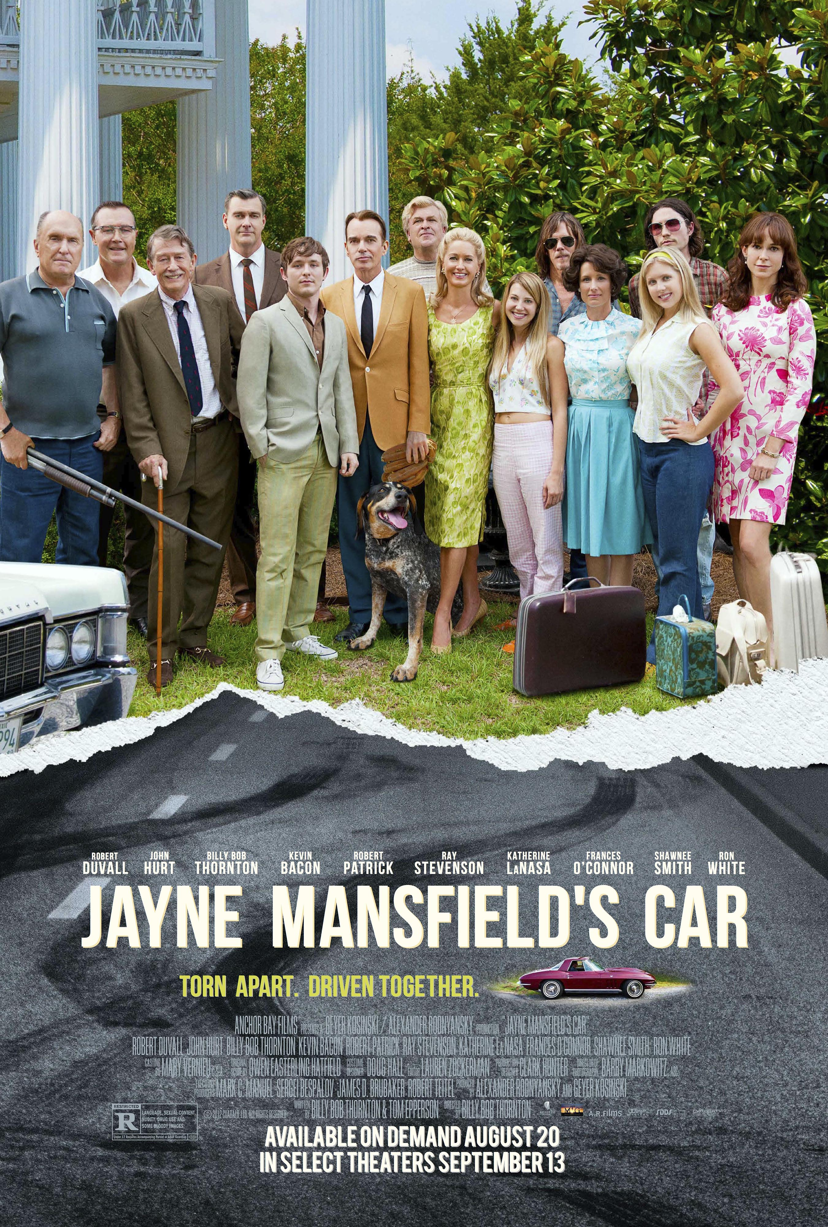 JMCposter1 New Official Images Released From Billy Bob Thorntons Jayne Mansfields Car