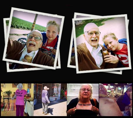 Jackass Presents Bad Grandpa Grandparents Behaving Badly Jackass Presents: Bad Grandpa Offers Broken Ride In New Clip