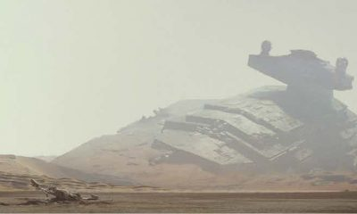 Star Wars: The Force Awakens Jakku Concept Art