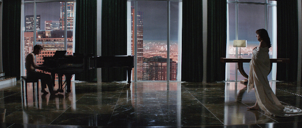 Jamie Dornan and Dakota Johnson in Fifty Shades of Grey Mr. Grey Will See You Now In First Fifty Shades of Grey Trailer