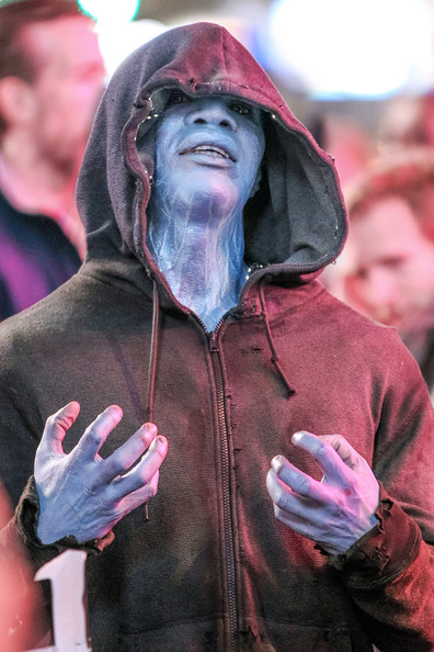 Jamie Foxx as Electro in The Amazing Spider Man 2 More Awesome Photos of Jamie Foxx in The Amazing Spider Man 2