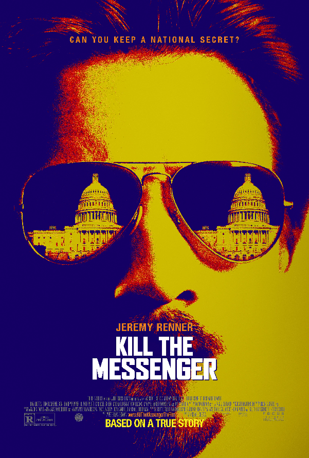 Jeremy Renner Looks to Kill the Messenger In New Official Poster