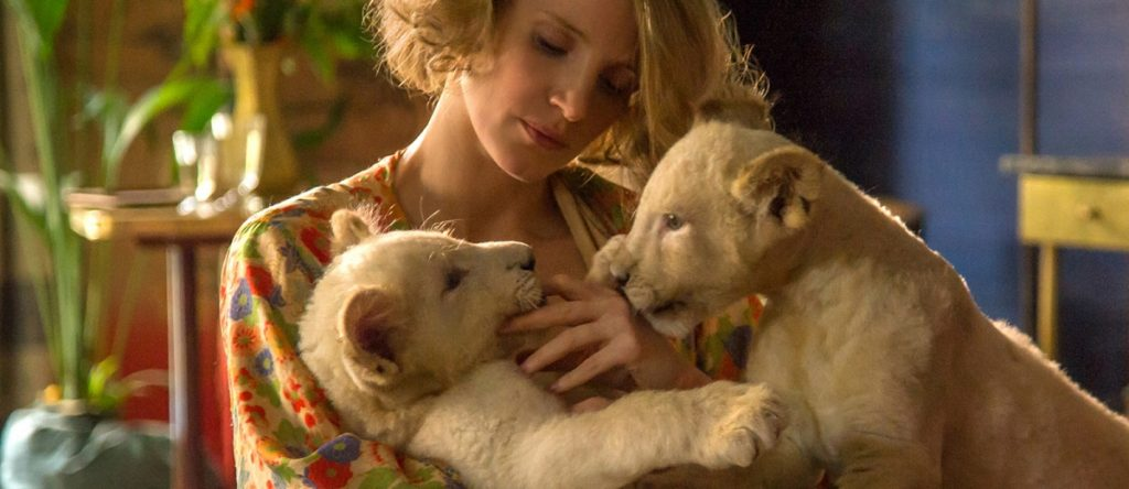 Jessica Chastain Photo from The Zookeepers Wife