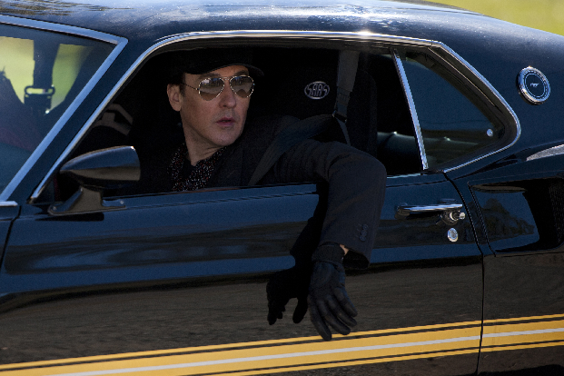John Cusack In Drive Hard John Cusack and Thomas Jane Drive Hard In Trailer and Set Stills