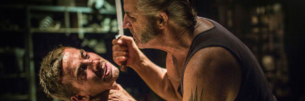 John Jarratt and Ryan Corr in Wolf Creek 2