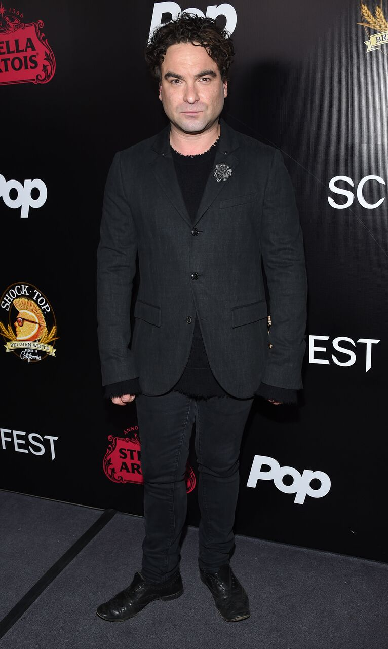 Johnny Galecki The Master Cleanse Screamfest Premiere