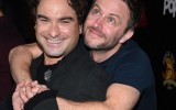 Johnny Galecki and Chris Hardwick The Master Cleanse Screamfest Premiere