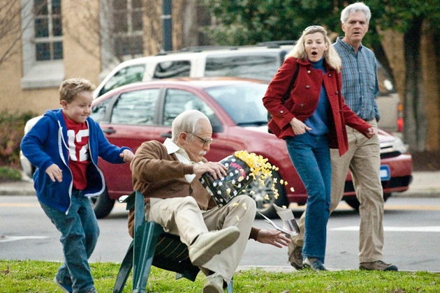 Johnny Knoxville and Jackson Nicoll Shock in Jackass Presents Bad Grandpa