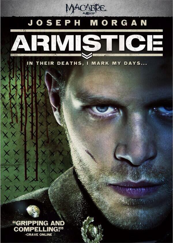 Joseph Morgan's Armistice Fighting Scares with Official Release
