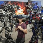 Josh Duhamel at Universal Studios Transformers ride 150x150 Transformers: The Ride 3D Debuts at Universal Studios Hollywood