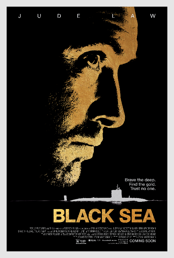 Jude Law Sets Sail for the Black Sea in Thriller's Official Poster