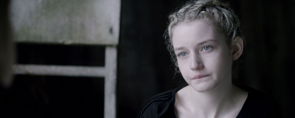 "Julia Garner on chowing down in the cannibal movie, ""We Are What We Are."""
