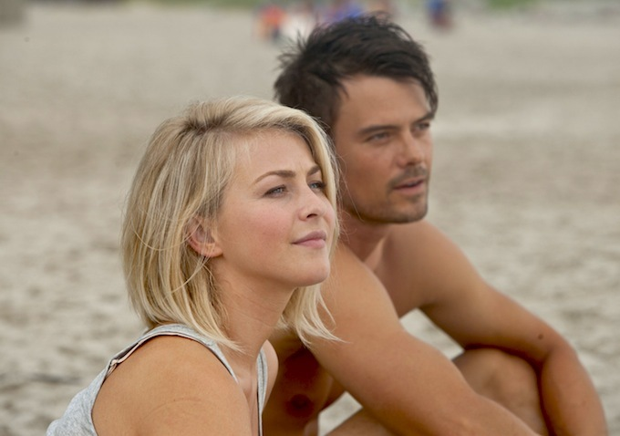 Julianne Hough Admits Real Life Abuse Prompted Her to Take On Safe Haven Role Julianne Hough Admits Real Life Abuse Prompted Her to Take On Safe Haven Role