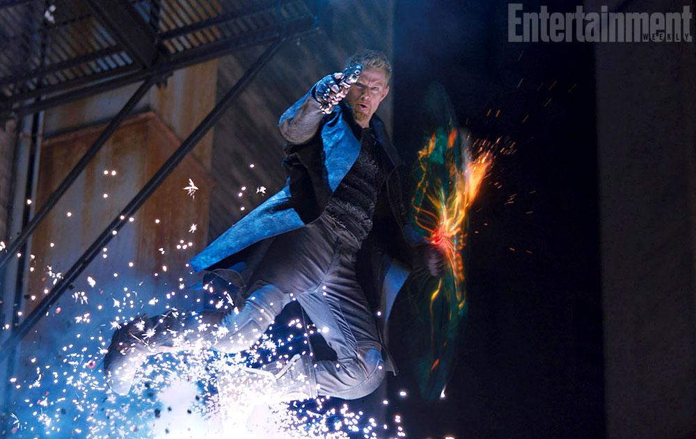 Jupiter Ascending EW Exclusive Image from Jupiter Ascending Shows Channing Tatum as Half Wolf, Half Albino Warrior