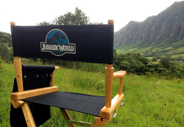 On the Set of Jurassic World
